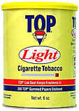 TOP LIGHT TOBACCO 6OZ CAN
