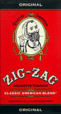 ZIG ZAG FULL FLAVOR POCKET TOBACCO - SIX 0.75 OZ POUCHES