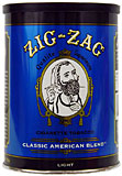 ZIG ZAG LIGHT BLEND TOBACCO 6OZ CAN