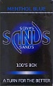 Sands Menthol Blue Light 100 Box