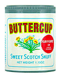 BUTTERCUP SWEET SCOTCH SNUFF 12CT