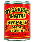 GARRETT SWEET MILD SNUFF 12CT.