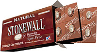 STONEWALL DISSOLVABLE TOBACCO PIECES - NATURAL - 5 PACKS OF 20
