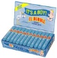 "SWELL ""IT'S A BOY"" BUBBLE GUM CIGARS 36CT/BOX"