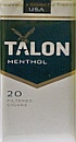 Talon Menthol 100 Filtered Cigar Box