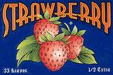 SPANISH STRAWBERY FLAVOURED 1 1/2 HERBAL PAPERS 36CT BOX