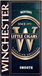 WINCHESTER LITTLE CIGARS MENTHOL BOX