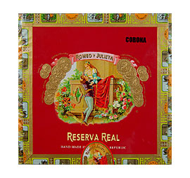 Romeo y Julieta Reserva Real Corona Medium Brown