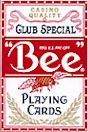 BEE POKER SIZE PLAYING CARDS 12CT