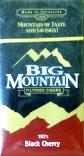 BIG MOUNTAIN FILTERED CIGARS - BLACK CHERRY 100 BOX
