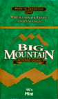BIG MOUNTAIN FILTERED CIGARS - MENTHOL 100 BOX