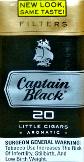 CAPTAIN BLACK FILTERS LITTLE CIGARS