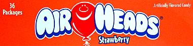 Air Heads Strawberry 36 ct.