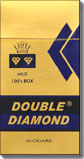 Double Diamond Mild 100 Box Filtered Cigar 