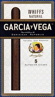 GARCIA Y VEGA WHIFFS 10 5/PKS