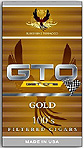 GTO Gold Filtered Cigars Box