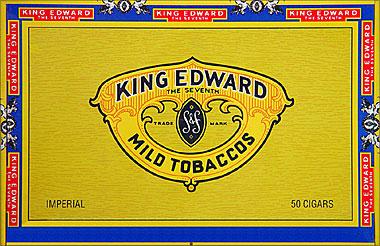 KING EDWARD IMPERIAL 50CT BOX