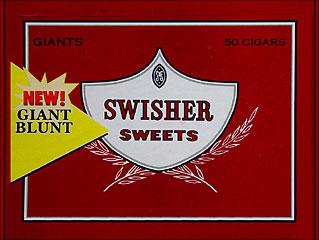 SWISHER SWEETS GIANTS 50CT/BOX