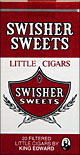 SWISHER SWEETS LITTLE CIGARS 10/CTN