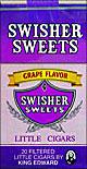 SWISHER SWEETS LITTLE CIGARS GRAPE 10/CTN