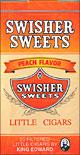 SWISHER SWEETS LITTLE CIGARS PEACH 10/CTN