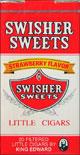 SWISHER SWEETS LITTLE CIGARS STRAWBERRY 10/CTN