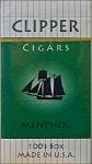 Clipper Menthol 100 Filtered Little Cigar Box