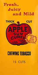 APPLE SUN CURED THICK CUT PLUG
