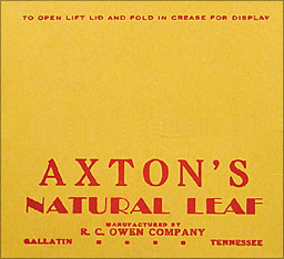 AXTON'S NATURAL LEAF 12CT 