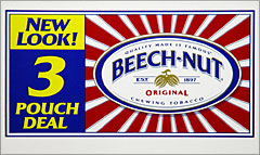 BEECHNUT CHEWING TOBACCO  12 COUNT - PROMOTIONAL BOX