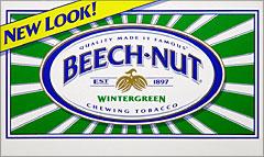 BEECHNUT WINTERGREEN CHEWING TOBACCO 12 COUNT
