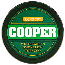 COOPER LONG CUT  WINTERGREEN 5CT ROLL