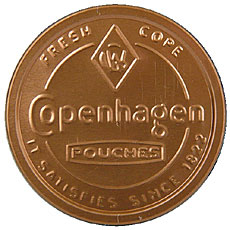 COPENHAGEN POUCHES 5CT ROLL