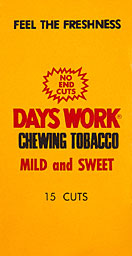 DAYS WORK  PLUG TOBACCO 15CT