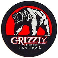 GRIZZLY FINE CUT NATURAL 5 CT ROLL