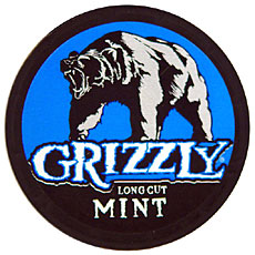 GRIZZLY LONG CUT MINT 5 CT ROLL 