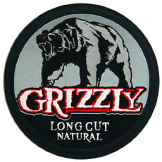 GRIZZLY LONG CUT NATURAL 5 CT ROLL