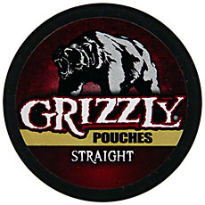GRIZZLY STRAIGHT POUCH 5 CT ROLL