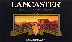 LANCASTER CHEWING TOBACCO  12 COUNT