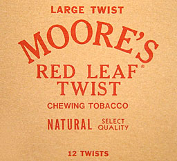 MOORES RED LEAF LARGE TWIST 12/CT