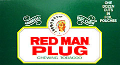 RED MAN PLUG 12CT 
