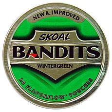 SKOAL BANDITS WINTERGREEN 5CT/ROLL - Smokes-Spirits com