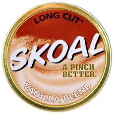 SKOAL LONG CUT VANILLA BLEND 5CT/ROLL