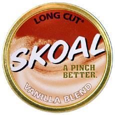 SKOAL LONG CUT VANILLA BLEND 5CT/ROLL