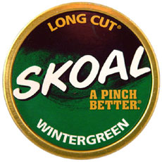 SKOAL LONG CUT WINTERGREEN 5CT/ROLL - Smokes-Spirits com
