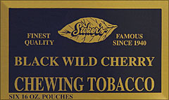 STOKER'S TENNESSEE CHEW BLACK WILD CHERRY 6 COUNT 16OZ POUCHES
