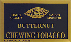 STOKER'S TENNESSEE CHEW BUTTERNUT 6 COUNT 16OZ POUCHES 
