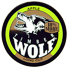 timber wolf long cut apple 5ct roll smokes spirits com