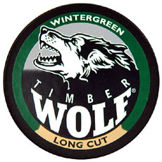 TIMBER WOLF LONG CUT WINTERGREEN 5CT/ROLL