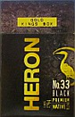 HERON No.33 BLACK LIGHT KING BOX